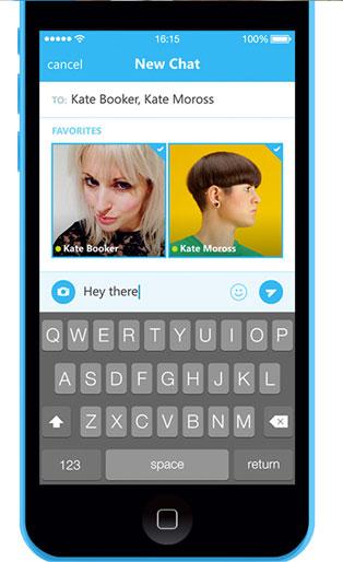 Skype на iPad