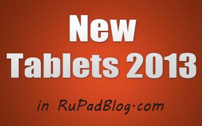 Новинки планшетов в 2013 году