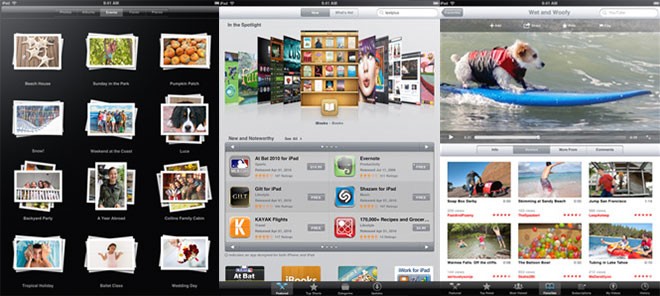 Новый интерфейс iPad
