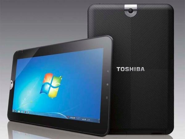 Новый планшетный компьютер от Toshiba