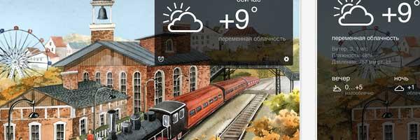 Яндекс.Карты и Яндекс.Погода